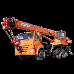 КАМАЗ-65115 (6х4)(28м)